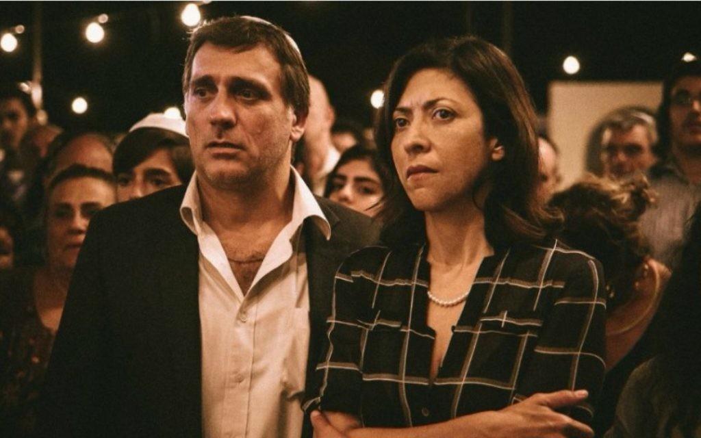 """Lior Ashkenazi et Asi Levi, acteurs de """"Hakafot"""", qui ouvre le festival Cinema South (Courtesy Cinema South)"""