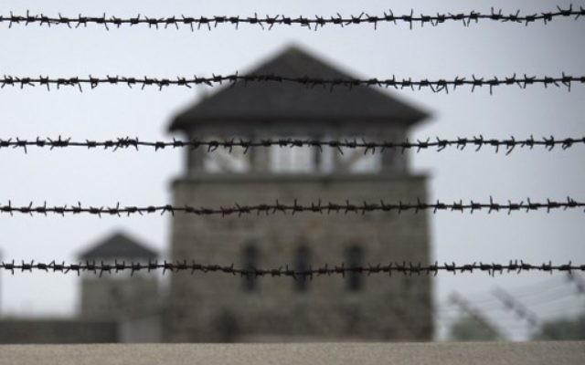 Un mirador à Mauthausen. Illustration. (Crédit : AFP)