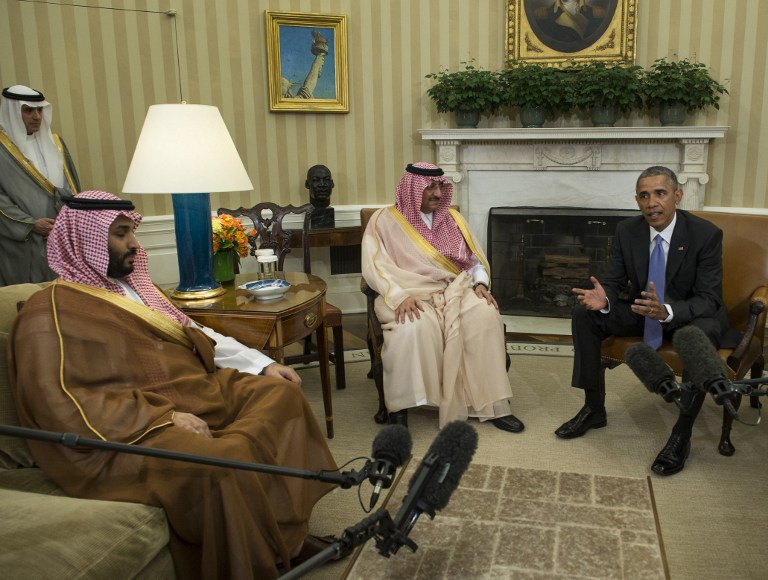 Obama loue les liens avec ryad promet la vigilance face t h ran the times of isra l - Bureau president americain ...