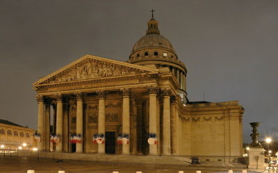 Le Panthéon, Paris (Crédit : Roman Bonnefoy/CC BY SA 3.0)