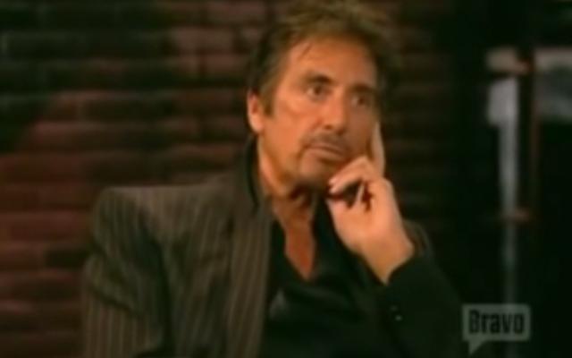 Al Pacino (Crédit : Capture d'écran YouTube)