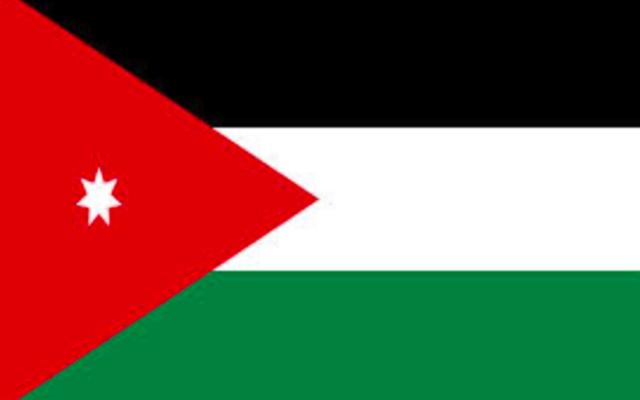 Drapeau jordanien (Crédit : domaine public/Pixabay)