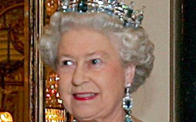 Sa Majesté Elisabeth II d'Angleterre (Crédit : Wikimedia commons)