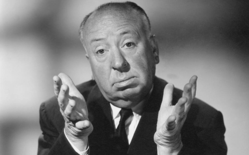 Alfred Hitchcock (Crédit : capture d'écran)
