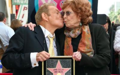 Jerry Stiller et Anne Meara - février 2007  (Crédit : GABRIEL BOUYS / AFP)
