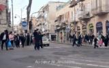 Capture d'écran de Mea Shearim dans les Shtisel (Crédit : YouTube)