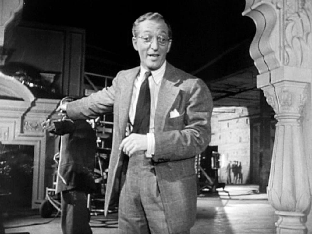 """Everett Sloane incarnant le personnage juif Bernstein en 1941 dans """"Citizen Kane"""" d'Orson Welles  (Crédit : RKO Radio Pictures)"""