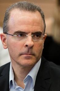 L'ancien chef de l'Autorité antitrust d'Israël, David Gilo, le 18 mars 2014 (Crédit : Flash 90)
