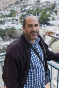 Le membre du Conseil municipal de Jérusalem Aryeh King, à Jérusalem le 22 octobre 2014 (Crédit : Yonatan Sindel / Flash90)