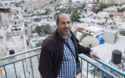 Le membre du Conseil municipal de Jérusalem Aryeh King, à Jérusalem le 22 octobre 2014 (Crédit photo: Yonatan Sindel / Flash90)