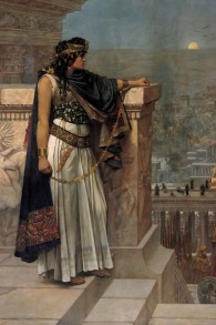 Dernier regard de la reine Zénobie sur Palmyre par Herbert Gustave Schmalz. (Original on exhibit, Art Gallery of South Australia, Adelaide.)
