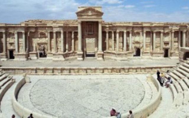 Le Théâtre de Palmyre (Jerzy Strzelecki)