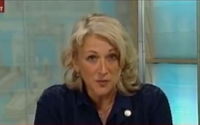 La ministre de la Sécurité publique du Québec, Lise Thériault (Crédit : Capture d'écran YouTube)