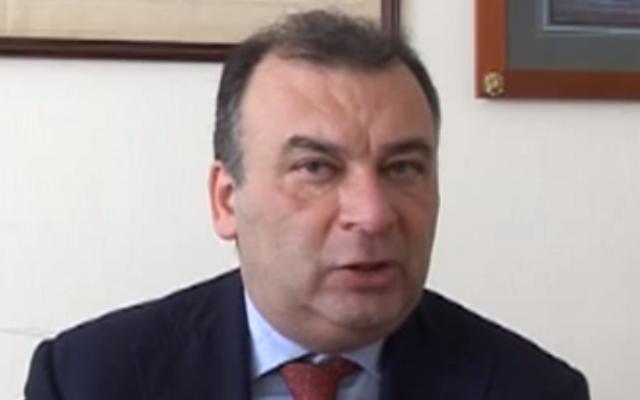 Fulvio Martusciello, député européen italien. (Crédit : capture d'écran YouTube/Aerospazio Campanie)