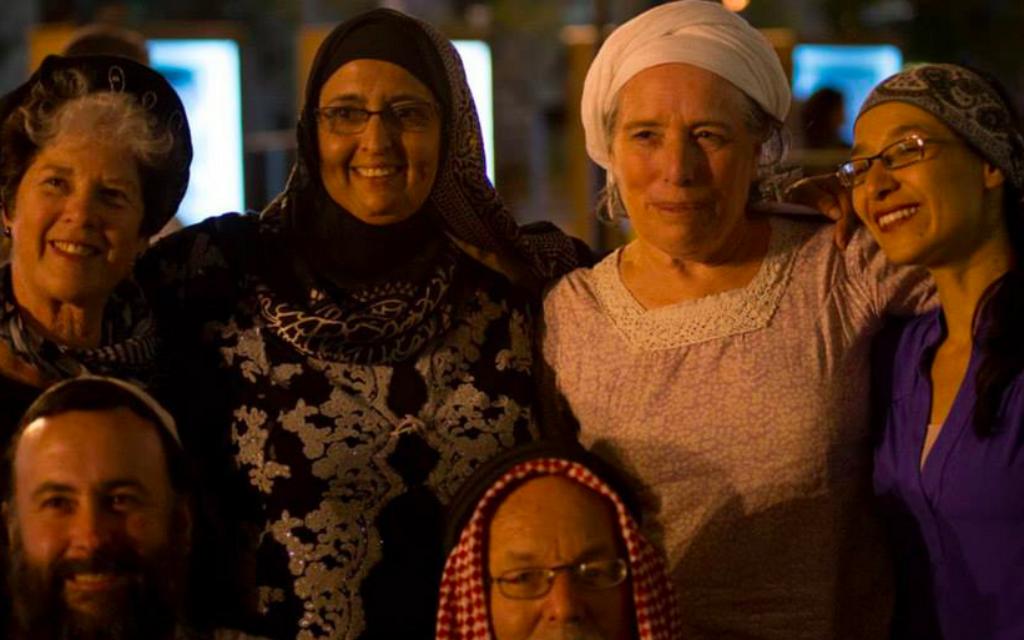 Certains des chefs spirituels de la Journée de Jérusalem de l'an dernier ;  Tamar Elad-Appelbaum est à droite  (Crédit : Kehillat Sion)