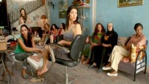 """Une scène du film """"Dégradé"""" des jumeaux Tarzan et Arab Nasser de Gaza (Crédit : Festival de Cannes)"""