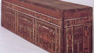 Cercueil égyptien (autorisation: Musée des Pays de la Bible de Jérusalem)