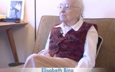 La cofondatrice de Lamaze international Elisabeth Bing (Capture d'écran / YouTube)
