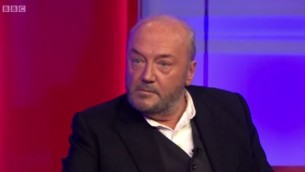 George Galloway (Crédit : Capture d'écran YouTube/ Gallowayist)