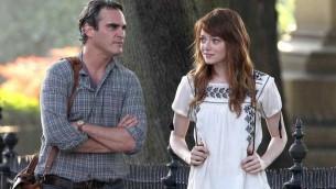 Joaquin Phoenix et Emma Stone dans ' Irrational Man' de Woody Allen (Crédit : Festival de Cannes)