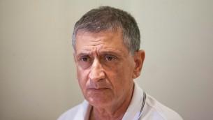 Le directeur général du Ministère des Affaires étrangères Nissim Ben Shitrit le 16 octobre 2014. (Crédit photo: Yonatan Sindel / Flash90)
