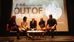 L'an dernier au Cinema South Film Festival (Crédit : Jessica Steinberg/Times of Israel)