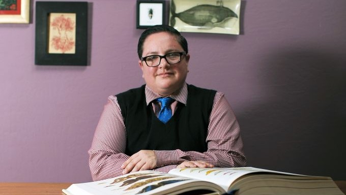 Rabbi Elliot Kukla. (Crédit : Nic Coury)