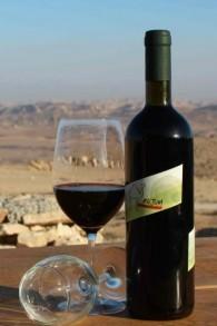 Les vins Rujum près de Mizpe Ramon ont été le premier établissement vinicole à utiliser la certification de casheroute du Mouvement Masorti  (autorisation: Rujum Winery)