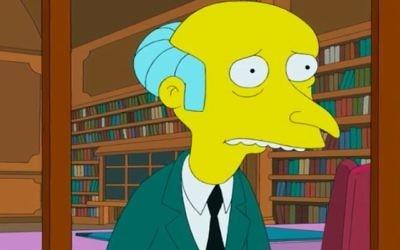 M. Burns, personnage dans « Les Simpsons », dont la voix est Harry Shearer (Crédit : Capture d'écran: YouTube)