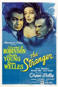 Affiche pour 'The Stranger' (Crédit : RKO Pictures)
