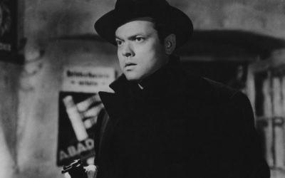 """Orson Welles dans """"Le Troisième Homme"""" (Crédit : Autorisation de The Criterion Collection)"""