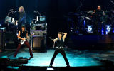 Bon Jovi en concert à Montréal, en 2007 (Crédit : Rosana Prada/Wikimedia)
