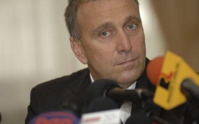 Le ministre des Affaires étrangères polonais, Grzegorz Schetyna (Crédit : Aargambit/Wikimedia)
