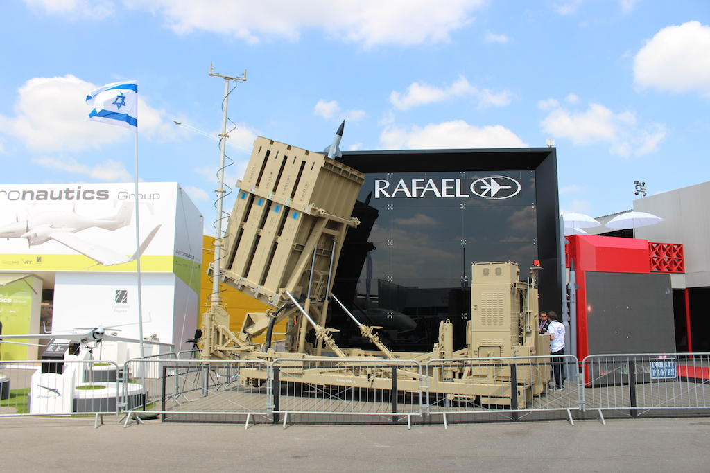 L'Iron Dome de Rafael Advanced Defense Systems Ltd (Times of Israël Staff)