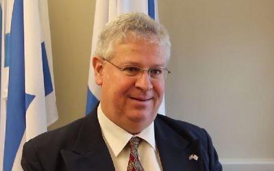 L'ambassadeur d'Israël en Suède Isaac Bachman (Capture d'écran: YouTube / Israel's Ambassadors)