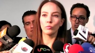 La sénatrice mexicaine Gabriela Cuevas Barron. (Capture YouTube / SenadoresPANTV)