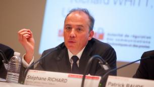 Stéphane Richard (Crédit : Olivier Ezratty/CC BY SA 3.0)