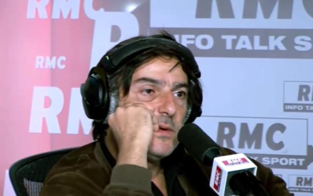 Capture d'écran Yvan Attal - émission de l'immanquable des grandes gueules (Crédit : YouTube/RMC)