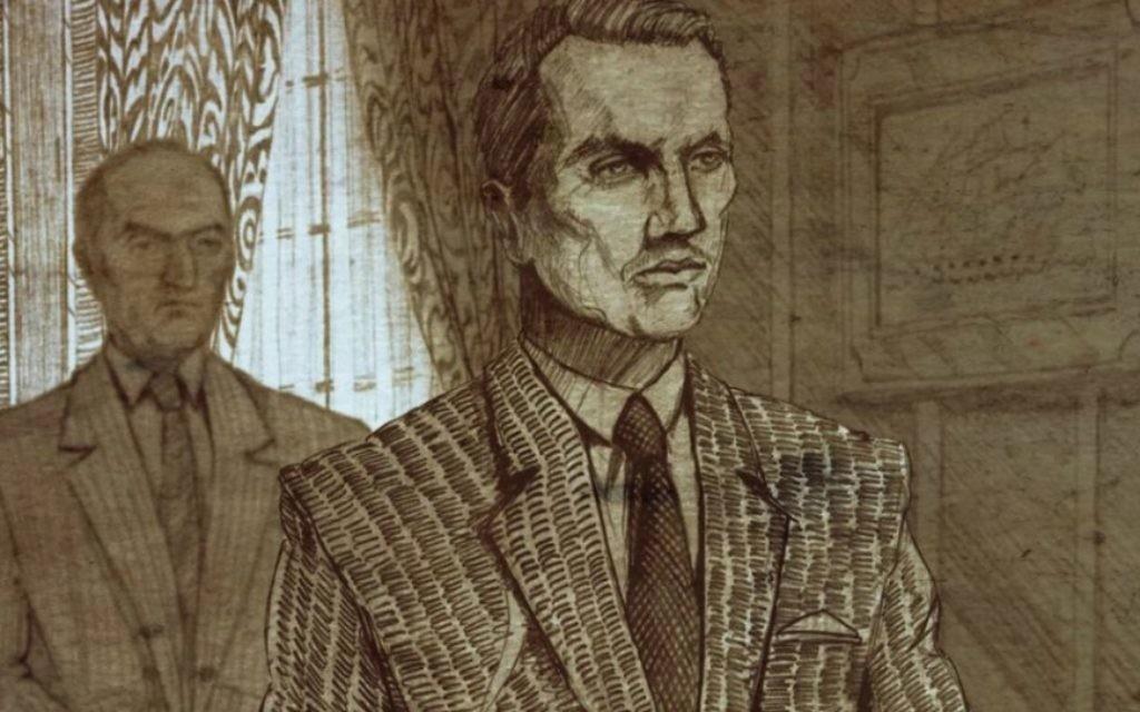 """Un dessin d'animation issu du film """"Karski et les Seigneurs de l'Humanité"""" par Tomasz Niedzwiedz. (DR)"""