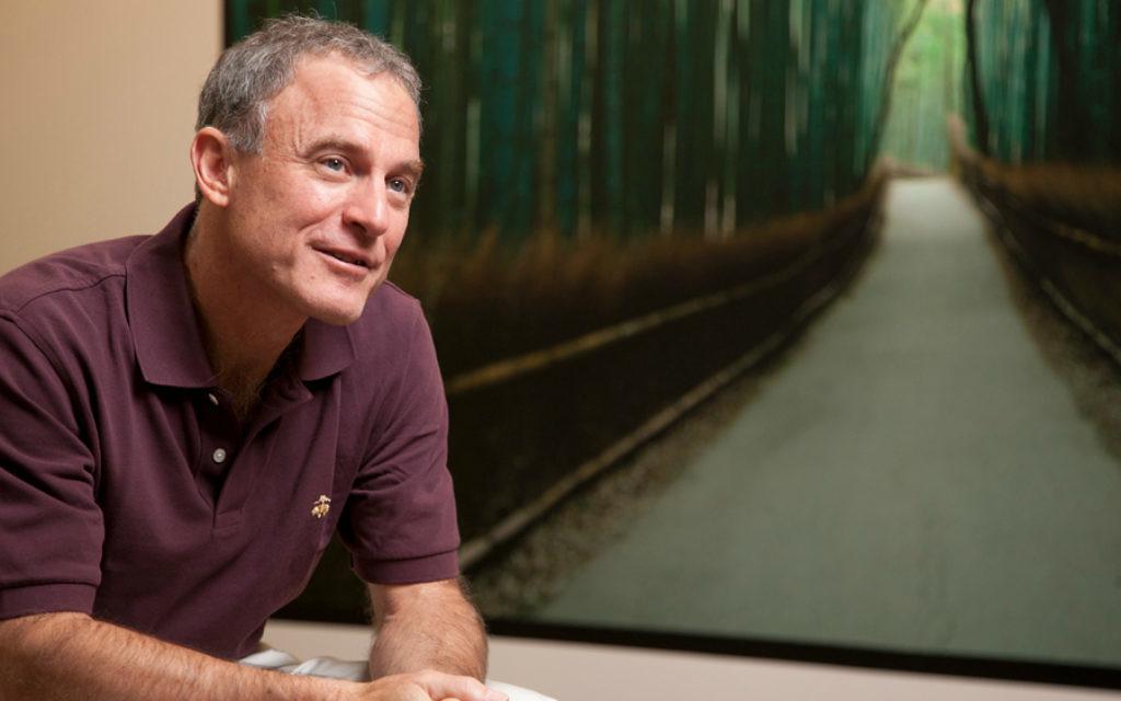 Bien qu'il soit PDG d'une grande entreprise de voyage, Stephen Kaufer dit qu'il n'a pas vraiment envie de voyager. Il aimerait toutefois revoir sa destination préférée : Jérusalem. (Crédit : Autorisation TripAdvisor / via JTA)