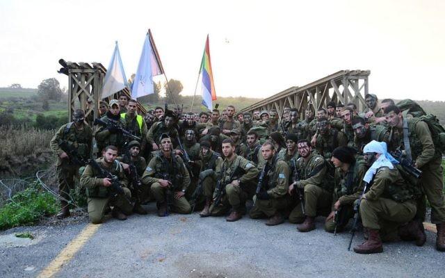 Des soldats du Bataillon 299 sur le terrain, le 10 février 2012 (Courtesy IDF/Flickr)