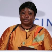 La procureure de la Cour pénale internationale Fatou Bensouda (Crédit : Andreas Rentz / Getty Images / via JTA)