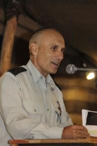 Gershon Hacohen, photographié en 2013 quand il servait comme directeur de l'infrastructure de l'armée israélienne (Crédit photo:  Gershon Elinson / Flash90)