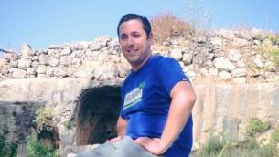 Danny Gonen, 25 ans, de Lod, tué vendredi au cours d'une attaque terroriste (Crédit : Facebook)