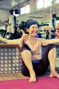 Karen Zivan, une instructrice de yoga et mère de cinq garçons, a le profond désir d'apporter le yoga et ses techniques de relaxation à Tsahal (Autorisation: Masa L'Koach)
