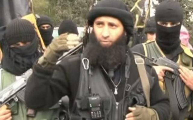 Des combattants du Front al-Nosra en Syrie. Illustration. (Crédit : capture d'écran YouTube/Al-Jazeera)