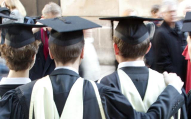 Des étudiants britanniques (Illustration du compte LinkedIn de Universities UK)