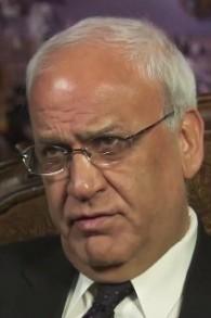 Le négociateur palestinien Saeb Erekat (Capture d'écran YouTube)