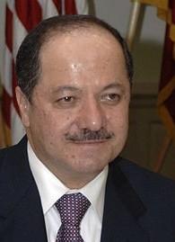 Le président kurde Masoud Barazani (Crédit : Helene C. Stikkel/Wikimedia Commons)