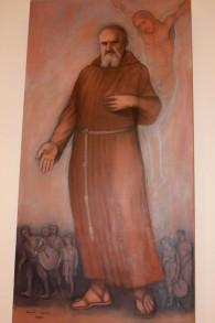 Portrait du Père Pierre-Marie Benoît (Crédit : Shmuel Bar-Am)